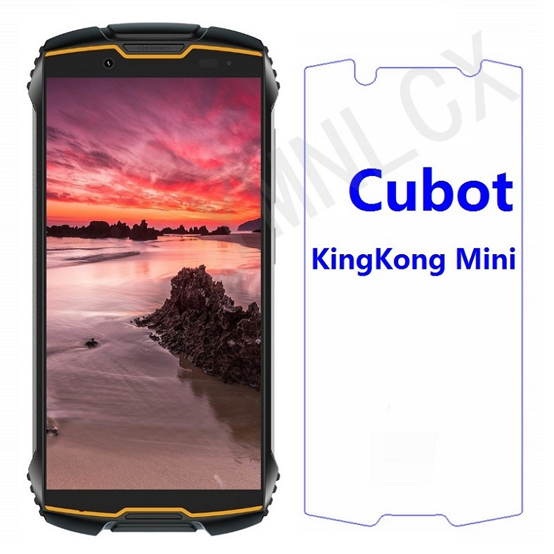 2.5D 9H Tempered Glass For Cubot KingKong Mini Explosion-proof Screen Protector For Cubot King Kong Mini Phone Front Glass Cover