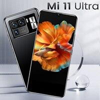 Mi11ultra-teléfono inteligente libre de google, pantalla HD de 6,7 pulgadas, 5g, 16GB de ram, 512GB de ROM, pantalla completa de 10 núcleos, batería de 6800 MAH, nuevo