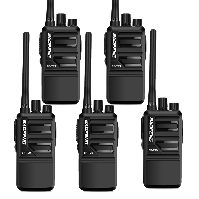 Wholesale 5PCS Baofeng BF-T99 Walkie Talkie 16ch 400-470MHZ USB Fast Charging Two Way Radio