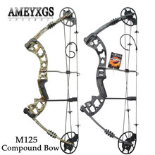1set 30-70lbs Adjustable Pulley Bow Shooting Competition M125 High-quality Compound Bow IBO 320FPS For Archery Hunting Bow archery compound bow fully adjustable 40 70lbs 45 75lbs 55 85lbs dual cam compound bow ibo 350fps outdoor shooting accessories