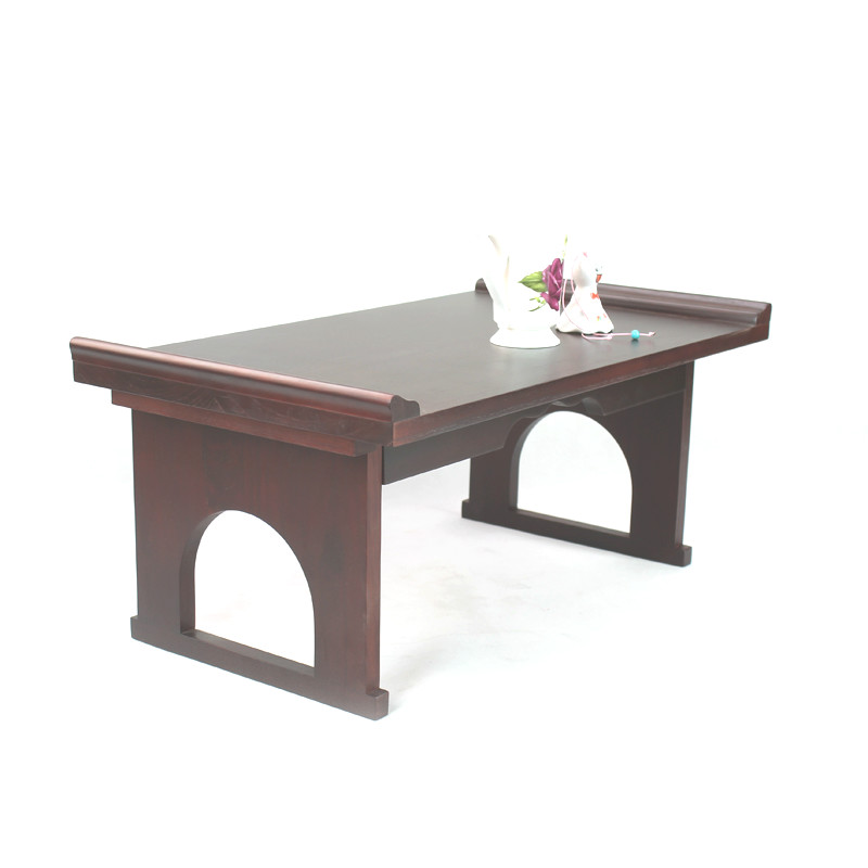 Solid Wood Table Simple Table Folding Dining Table Home Portable Belt Learning Solid Wood Desk Stall Table