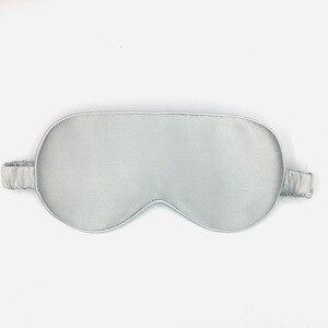 Image 4 - 100% reine Natürliche Seide Schlaf Maske Augenklappe Augenbinde Hohe Qualität 19 momme Großhandel