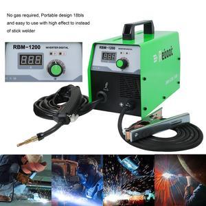 Image 2 - Reboot soldador Mig sin gas, máquina de soldadura de 220V MIG120, soldadores Mag, equipo de soldadura de acero y hierro, soldador portátil de MIG MAG