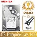 TOSHIBA 4TB Enterprise Class Hard Drive Disk HDD HD Internal SATA III 6Gb/s 7200RPM 128M 3.5