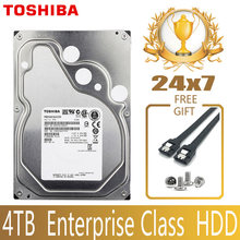 TOSHIBA 4TB Enterprise Class Hard Drive Disk HDD HD Internal SATA III 6Gb/s 7200RPM 128M 3.5