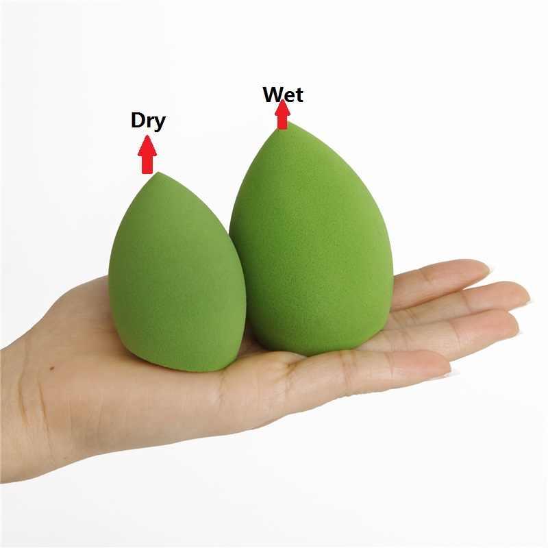 חדש 21 צבע איפור קוסמטיקה פאף אבקת נשיפת נשים של קרן ספוג יופי איפור אביזרי מים-זרוק צורה