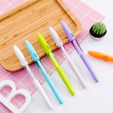 60pcs/set Creative Candy Color Shark Neutral Pen 0.5mm Black Ink Student Neutral Pen Wholesale Shark Gel Pen Stationery