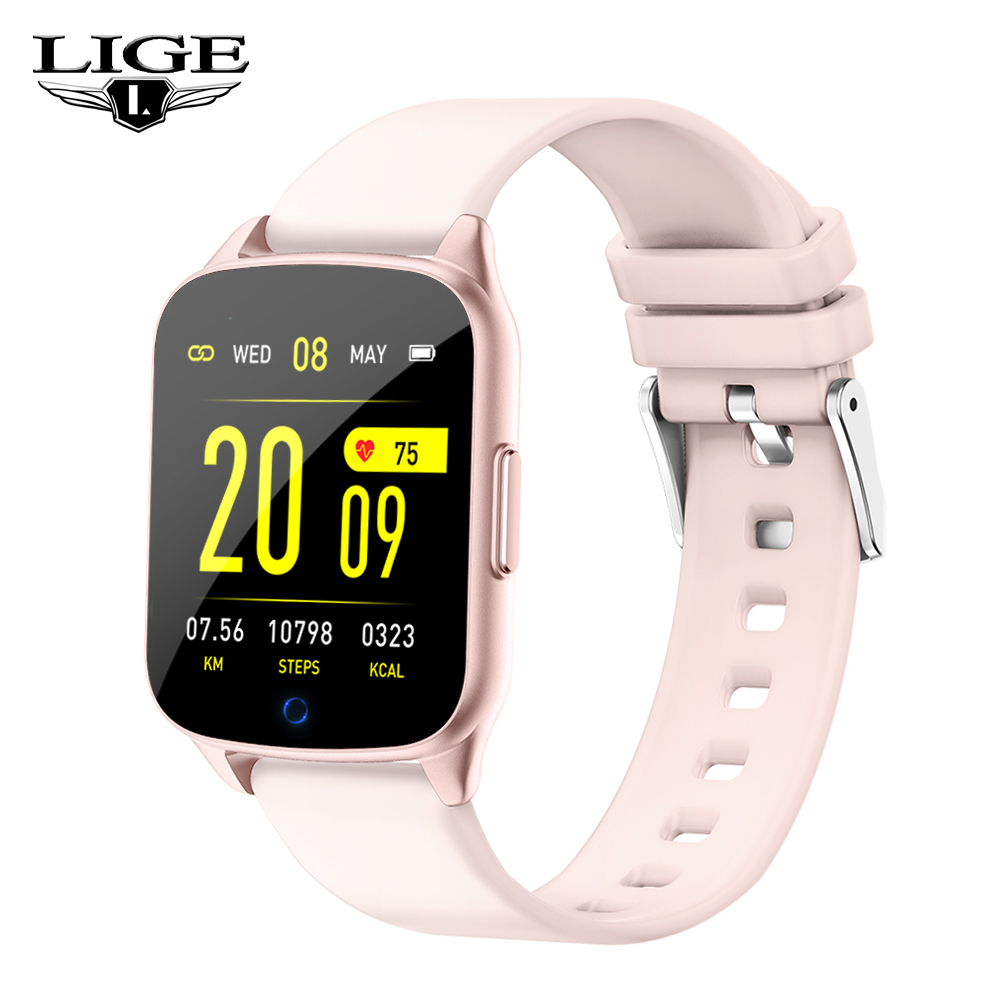 New Women Smart Watch OLED Color Screen IP67 Waterproof Sports For Iphone Smartwatch Heart Rate Monitor Blood Pressure Functions|Smart Watches| |  - title=