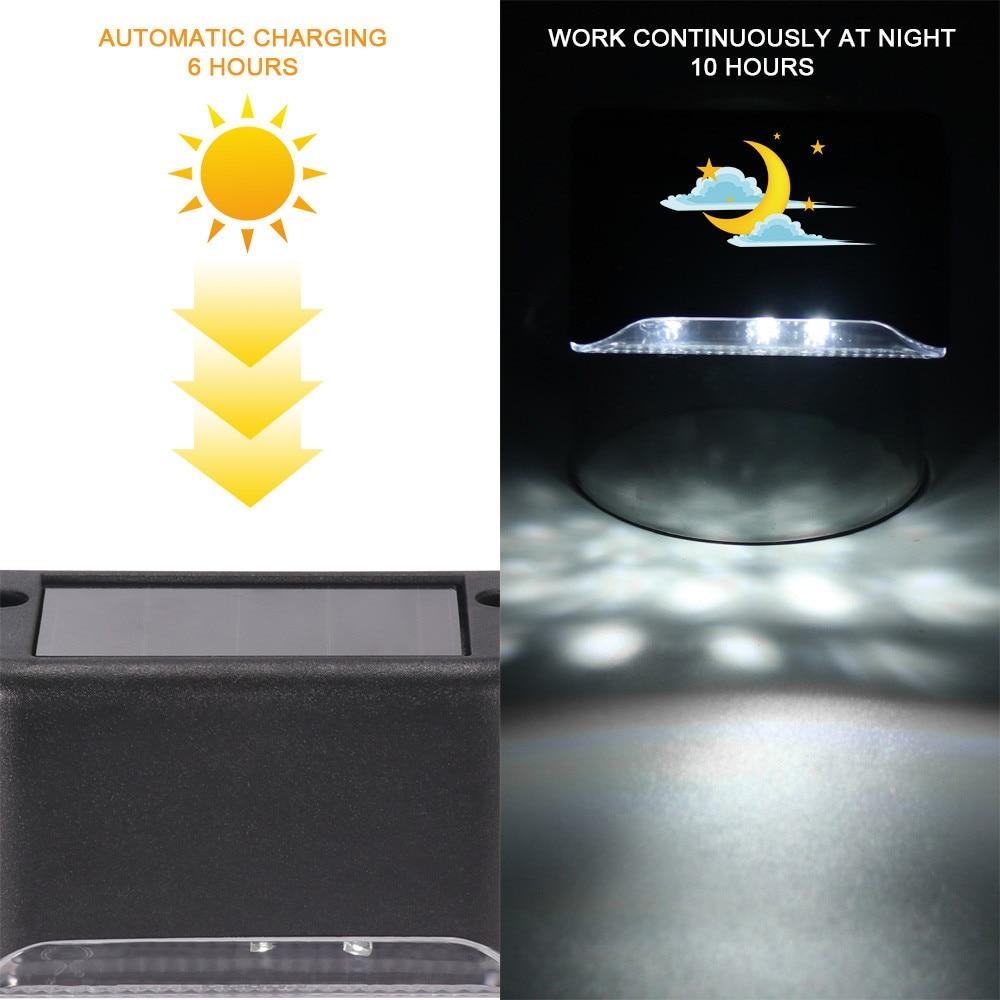Купить 1 шт 3 светодиодный светильник на солнечной батарее водонепроницаемый