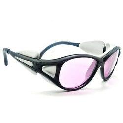 Wysokiej jakości 808nm na podczerwień IR YAG Laser gogle ochronne okulary ochronne OD + 4 CE