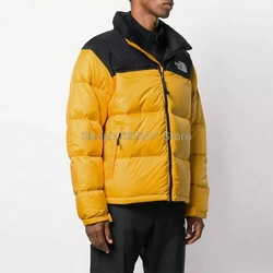 The North Face 1996 Retro Himalayan Jacket Men Jacket Winter Men's Stand-up Collar Thickened Slim Down Padded Jacket Plus size