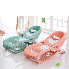 Pillow Infant Anti-Slip 1-3YEARS Large Children's Shampoo Chair Baby Shampoo Child Shampoo Bed Baby Wash Hair Chair Folding tub