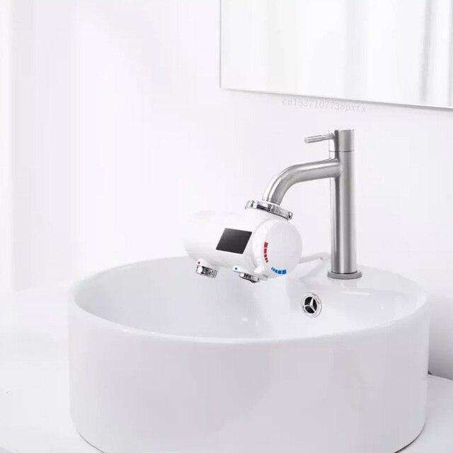 Youpin Xiaoda grifo de calefacción instantánea, calentador de agua eléctrico de cocina, grifo ajustable de temperatura fría y cálida de 30 50 °C