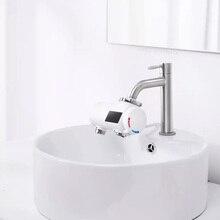 Youpin Xiaoda natychmiastowe ogrzewanie kran kuchnia elektryczna grzałka do wody 30 50 ° c temperatura zimny ciepły regulowany kran