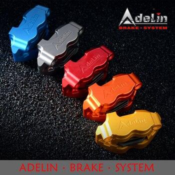Adelin ADL-1 Motorcycle Hydraulic Brake Calipers Universal 82mm 4 pistons CNC Aluminum alloy Modified Motorcycle brake calipers regenbogen life подвесной светильник перегрина