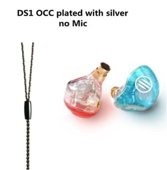 Auriculares BGVP DS1 PRO HIFI 1DD + 2BA tecnología híbrida en la oreja tipos de IEM OCC con micrófono/OCC chapado con cable MMCX 10