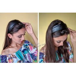 LEVAO PU Leather Headband For Women Hair Hoop Bands Female Hair Bands Fashion Headband Girls Hair Accessories