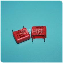 10PCS RED WIMA MKP4 0.15UF 160V PCM10 original new MKP 4 154/160V P10mm audio 154 hot sale 0.15uf/160v 150NF