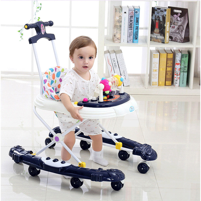 Baby Walker Anti-o leg Anti Rollover Multifunctional Newborn Baby Small Child Starter Learning to Walk