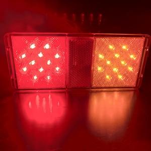 Image 4 - E4 ADR مجموعة مصابيح الشاحنة ، مصابيح Led ، إشارة الانعطاف الخلفية ، الفرامل ، قطع غيار RV الغاطسة ، الملحقات