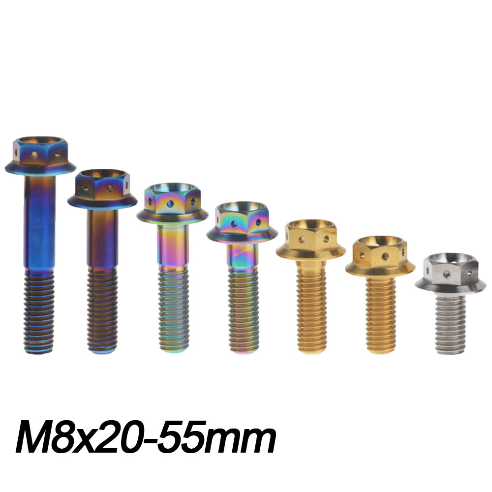 M10 x 1.5 x 25 mm Titanium Ti Screw Bolt Socket Allen /& Hexagon Hex Flange Head