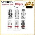 100 pces voopoo pnp bobinas PnP-VM1 0.3ohm/PnP-R1 0.8 ohm/PnP-VM3 0.45ohm malha bobina para voopoo vinci r/vinci x mod pod kit vape bobina