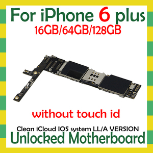 Image 2 - Factory unlocked for iphone 6 Plus 5.5inch Motherboard with/NO Touch ID,Original for iphone 6Plus Logic board with Free iCloud