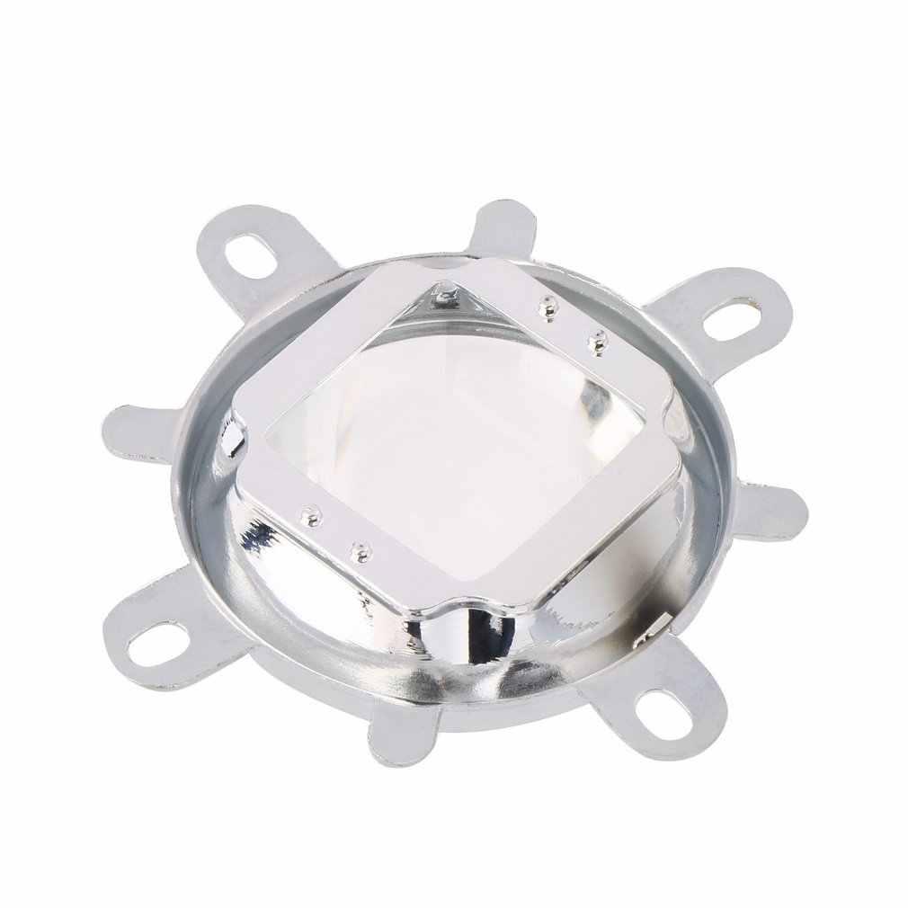 1 Alta Calidad W 30W 50W 100W LED 44mm lente + colimador Reflector + soporte fijo envío de la gota