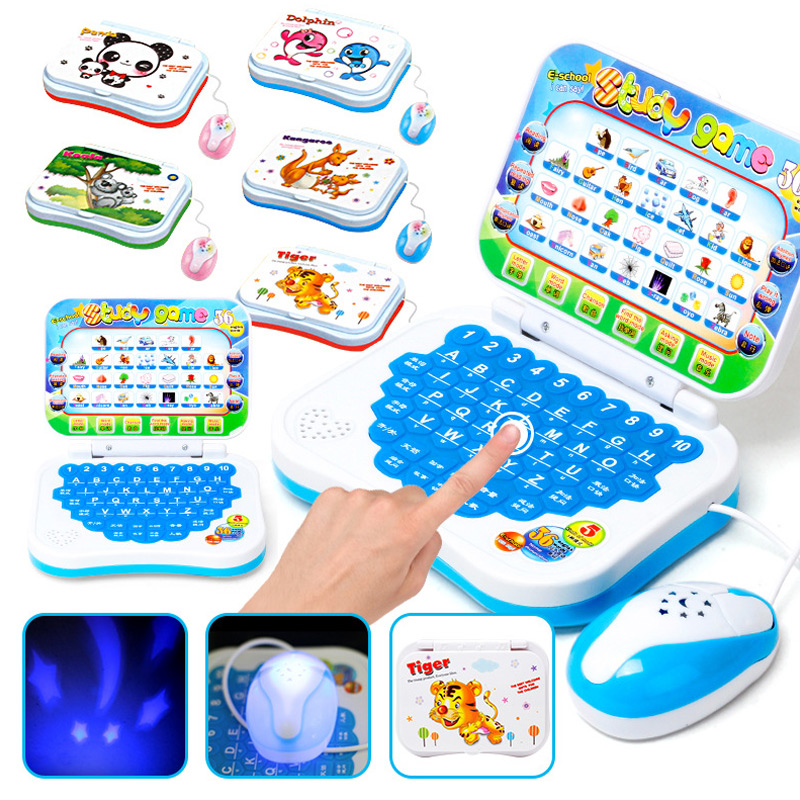 <font><b>Laptop</b></font> Chinese English Learning Computer <font><b>Toy</b></font> for Boy Baby Girl Children Kids BM88 image
