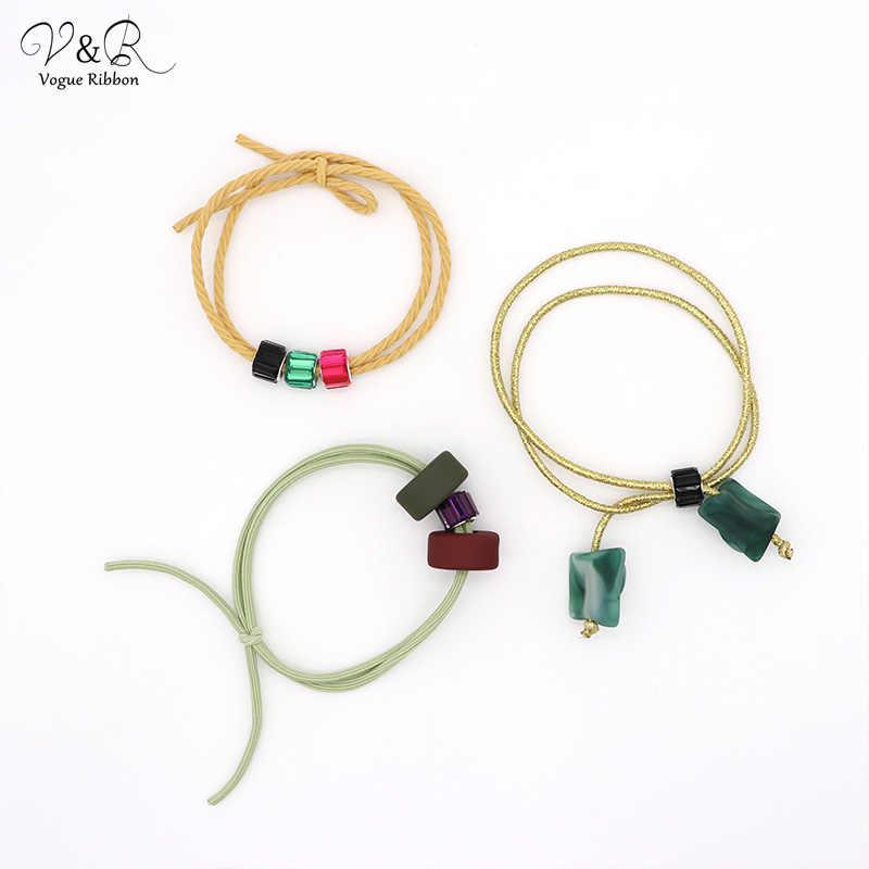 Vogue Lint DIY Handgemaakte Sieraden Maken Kralen Bedels Hangers voor Haarband Set Componenten Decoratie Mode Accessoires Cadeau