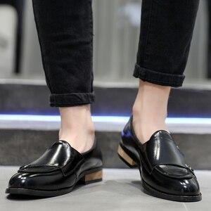 Image 5 - 2020 Scarpe Da Uomo Formale di Alta Qualità Per Il Tempo Libero Traspirante Affari Degli Uomini di Cuoio Scarpe Da Sera Scarpa Mocassini Oxford Scarpe