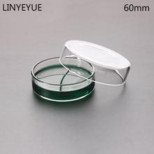 Chemistry Laboratory-Equipment Glass Petri-Dish Bacterial Borosilicate 60mm 10pieces/Pack