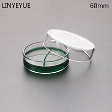 10 pieces/pack 60mm Glass Petri Dish Bacterial Culture Borosilicate Chemistry Laboratory Equipment