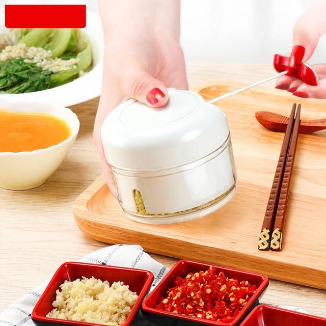 Slicer Garlic Press Mini Stainless Steel Pressure Multi Function Ground Peanuts Mashed Kitchen Gadget Seasoning tool N h4