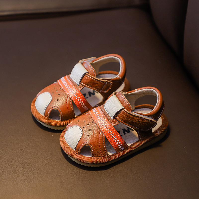 Summer Velcro Breathable Cute Sandals 4