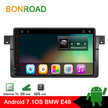 Android 7.1 Car Multimedia Player Car Video Player For E46 /M3/MG/ZT/Rover 75/320/318/325 Radio Rds GPS Navigation bluetooth