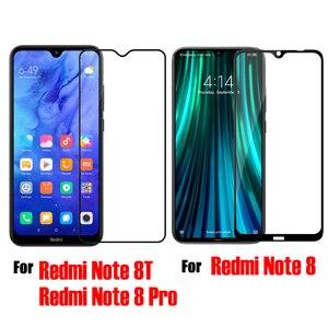 Image 2 - For Xiaomi Redmi Note 8 NOTE 8T Nillkin Tempered Glass H / H+Pro XD 3D CP +Pro Screen Protector For Xiaomi Redmi Note 8 Pro