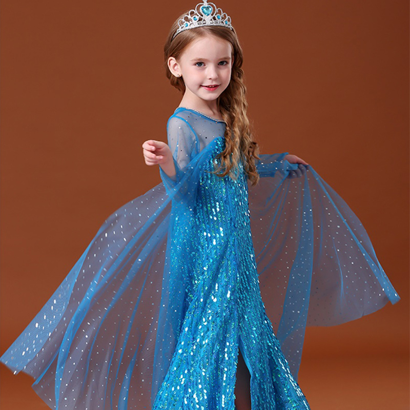 Fancy Girl Dress Cosplay Costume For Kids Dresses Princess Carnival Birthday Party Wear Baby Clothes Teens Chidren Clothing 5
