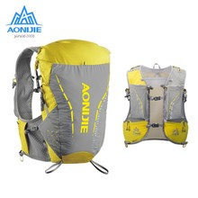 Aonijie 18l hidratação mochila maratona colete ultraleve pacote sacos de desporto para acampamento ao ar livre caminhadas trail correndo ciclismo c9104