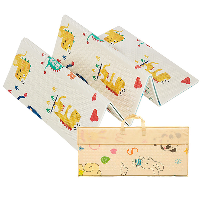 1CM d'épaisseur XPE pliant pad escalade pad bébé chenille jouet ramper pad extérieur pliant pad