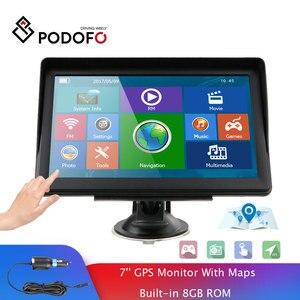 Podofo 7 Inch HD Car GPS Navig