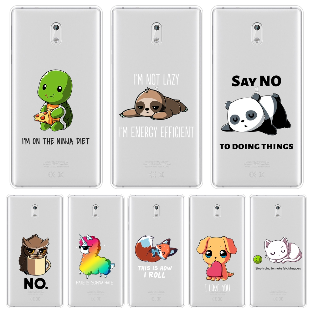 Quotes <font><b>Dog</b></font> Phone <font><b>Case</b></font> For <font><b>Nokia</b></font> 7 Plus X71 X6 Nokia2 Nokia3 Nokia5 Nokia6 Soft Silicone Back Cover For <font><b>Nokia</b></font> 1 Plus 2 <font><b>3</b></font> 5 6 8 9 image