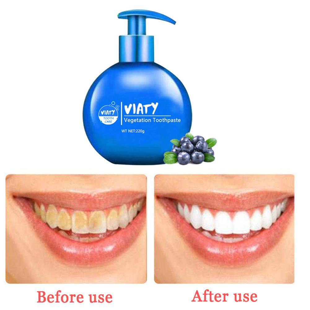 Press - Type Baking Soda Whitening Toothpaste Fruity Removal