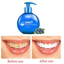Press - Type Baking Soda Whitening Toothpaste Fruity Removal