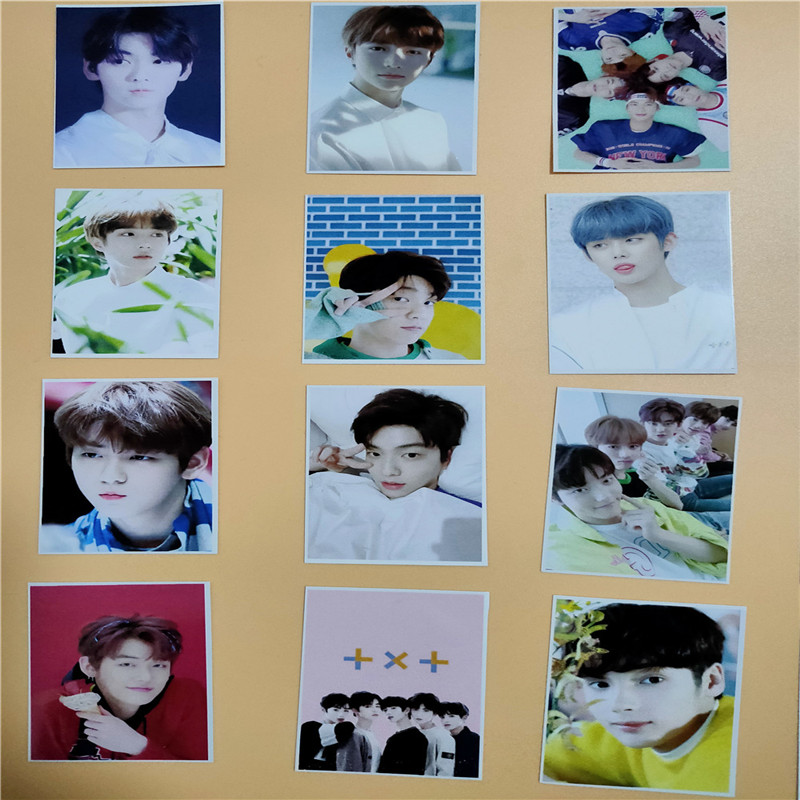 16pcs/set Kpop TXT Fanmade Photocards 2