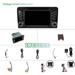 Image 2 - Radio coche PX6 2 DIN Android 10 para Audi A3 8P 2003 2012 S3 2006 2012 RS3 2011 2din audio estéreo autorradio pantalla de navegación