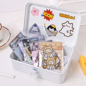 Creative universe series Paper Sticker Decoration Cute Animal Hand Account Material DIY Scrapbooking Label Sticker Stationery