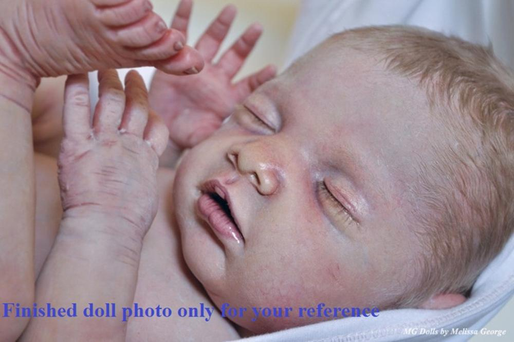 Rare limited edition Chloe by Debbie De  authentic original reborn doll kit,collectibles-in Dolls Accessories from Toys & Hobbies    1