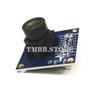 Tüketici Elektroniği'ten Kamera Modülleri'de 1 adet garantili yeni mavi OV7670 300KP VGA kamera modülü arduino için STM32 sürücü mikrodenetleyici