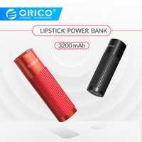 ORICO mini Frau Power 3200mah Tragbare Schnelle Lade 5V 2A Telefon Ladegerät für iphone 8 8S XS MAX xiaomi 9 OPPO Finden X